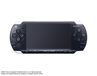 PSP®(PlayStation®Portable) (PSP-2000) Piano Black front