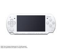 PSP®(PlayStation®Portable) (PSP-2000) Ceramic White front