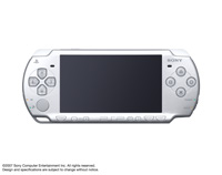 PSP®(PlayStation®Portable) (PSP-2000) Ice Silver front