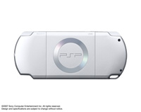 PSP®(PlayStation®Portable) (PSP-2000) Ice Silver rear