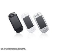 PSP®(PlayStation®Portable) (PSP-2000) Piano Black, Ceramic White and Ice Silver