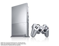PlayStation 2 (SCPH-90000 series) Satin Silver