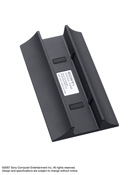 Vertical Stand Charcoal Black