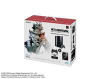 「PLAYSTATION®3 METAL GEAR SOLID 4 GUNS OF THE PATRIOTS WELCOME BOX with DUALSHOCK®3」Clear Black