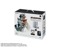 「PLAYSTATION®3 METAL GEAR SOLID 4 GUNS OF THE PATRIOTS WELCOME BOX with DUALSHOCK®3」Satin Silver
