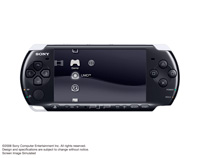 PSP®(PlayStation®Portable) (PSP-3000) Piano Black front