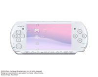 PSP®(PlayStation®Portable) (PSP-3000) Pearl White front