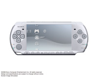 PSP®(PlayStation®Portable) (PSP-3000) Mystic Silver front