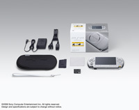 PSP® (PlayStation®Portable) Value Pack Mystic Silver