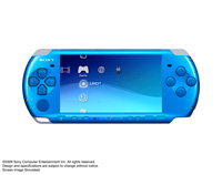 PSP® (PlayStation®Portable) (PSP-3000) CARNIVAL COLORS Vibrant Blue front