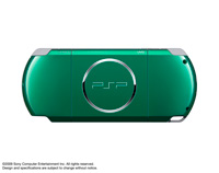 PSP® (PlayStation®Portable) (PSP-3000) CARNIVAL COLORS Spirited Green rear
