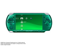 PSP® (PlayStation®Portable) (PSP-3000) CARNIVAL COLORS Spirited Green front