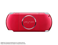 PSP® (PlayStation®Portable) (PSP-3000) CARNIVAL COLORS Radiant Red rear