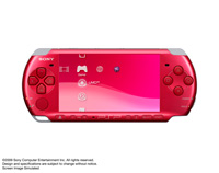 PSP® (PlayStation®Portable) (PSP-3000) CARNIVAL COLORS Radiant Red front