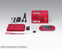 PSP® (PlayStation®Portable) CARNIVAL COLORS VALUE PACK Radiant Red