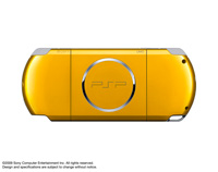 PSP® (PlayStation®Portable) (PSP-3000) CARNIVAL COLORS Bright Yellow rear