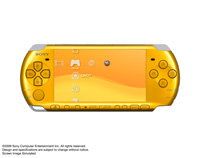 PSP® (PlayStation®Portable) (PSP-3000) CARNIVAL COLORS Bright Yellow front