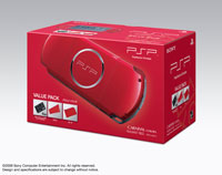 PSP® (PlayStation®Portable) Value Pack Radiant Red