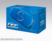 PSP® (PlayStation®Portable) Value Pack Vibrant Blue