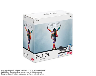 PlayStation®3 「マイケル・ジャクソン THIS IS IT」 Special Pack